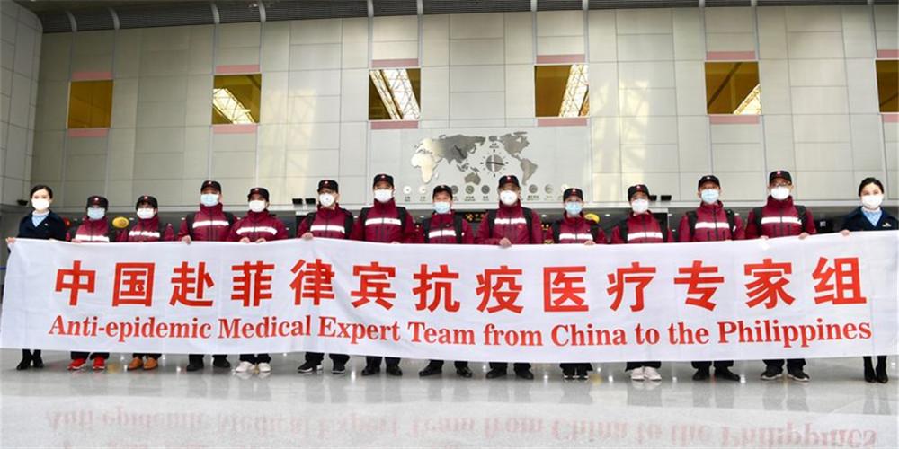China envia equipe de peritos médicos para Filipinas