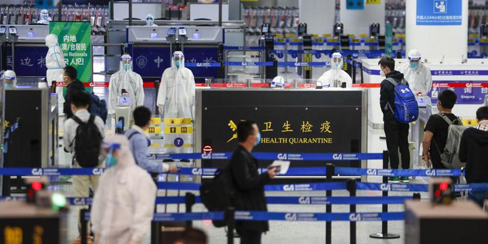 Parte continental chinesa relata 63 novos casos confirmados de COVID-19