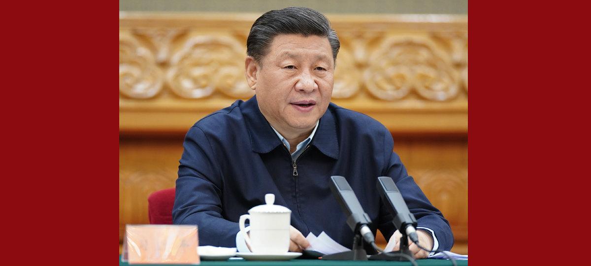 Xi enfatiza superação do impacto da COVID-19 para vencer a luta contra a pobreza