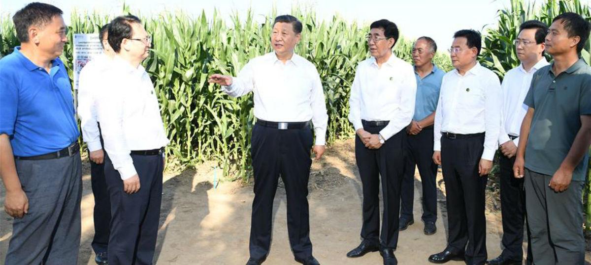 Xi inspeciona Província de Jilin no nordeste da China