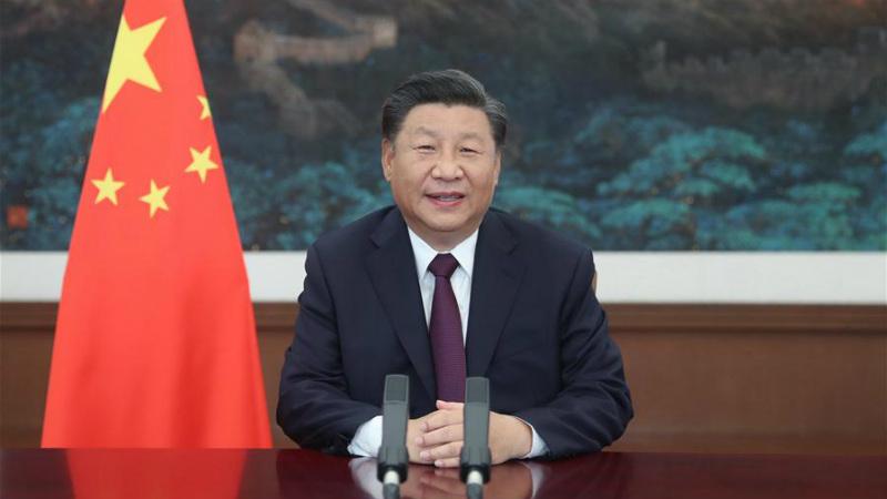 Xi enfatiza promoção da prosperidade do comércio de serviços e rápida recuperação da economia global