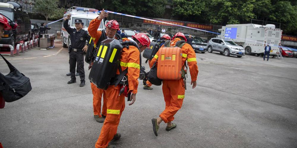 Acidente em mina de carvão deixa 17 presos no sudoeste da China