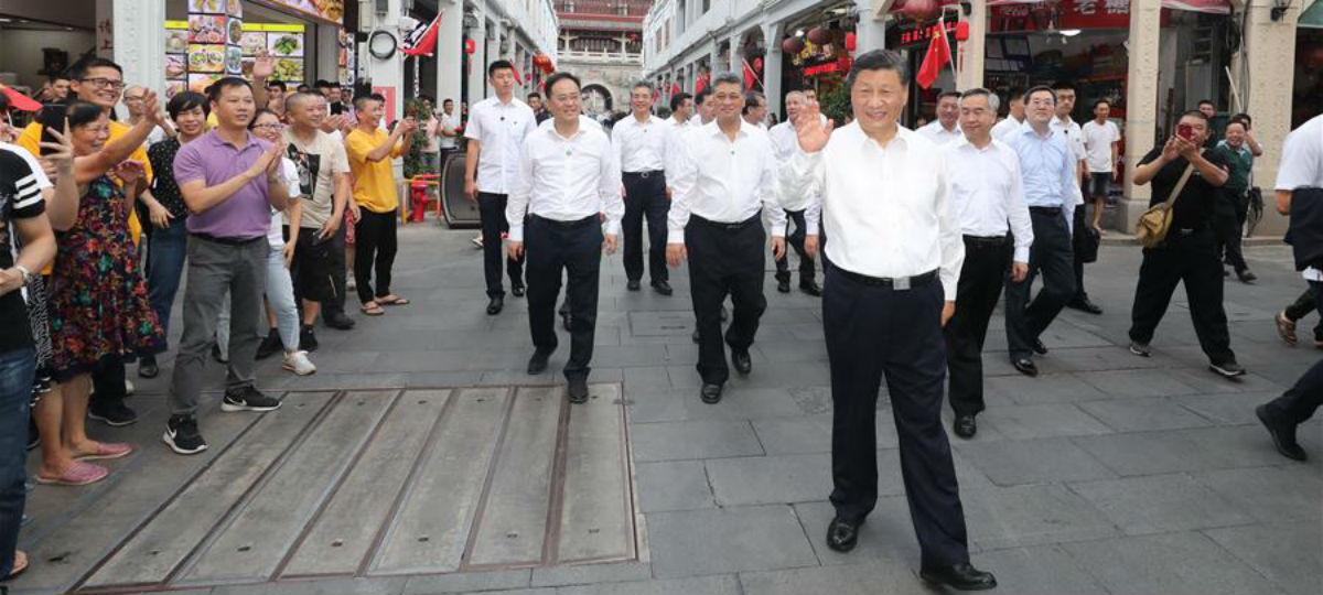 Xi inspeciona Província de Guangdong, no sul da China
