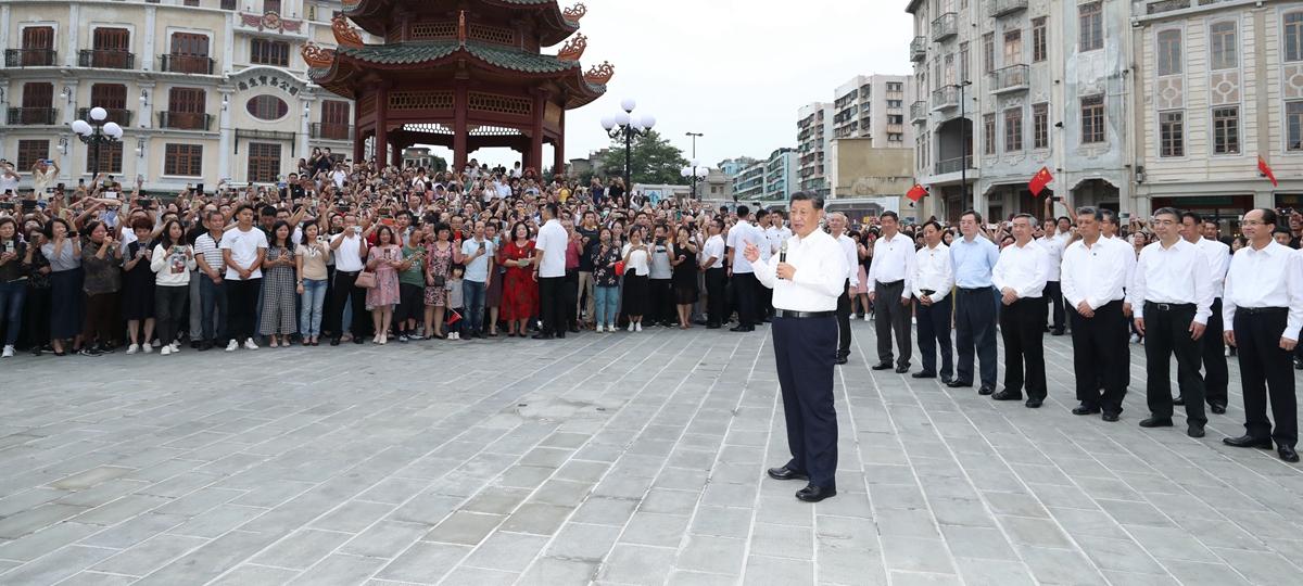 Xi inspeciona cidade chinesa de Shantou