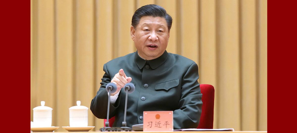 Xi pede um bom começo para fortalecimento militar e da defesa nacional em 2021-2025