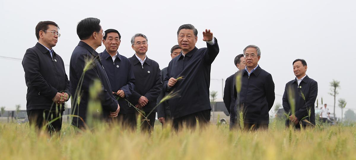 Xi inspeciona mega projeto de desvio de água da China