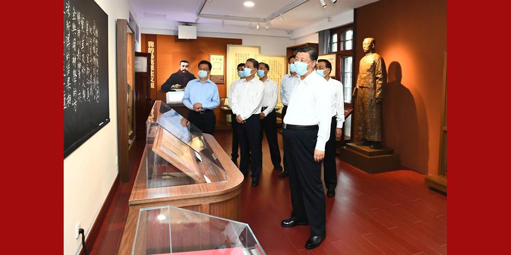 Xi assinala criação de novas conquistas antes do centenário do PCC