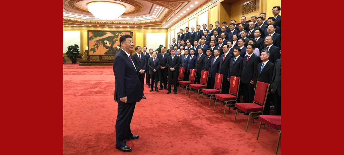 Xi se reúne com excelentes secretários do Partido de nível distrital