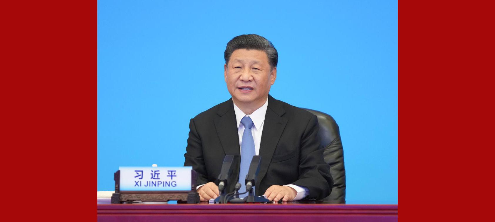 Enfoque: Xi pede que partidos políticos no mundo assumam responsabilidade pela busca do bem-estar das pessoas e progresso da humanidade