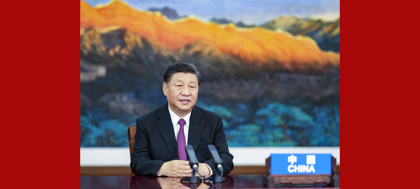 Xi pede solidariedade e cooperação entre membros da APEC para combater COVID-19 e promover recuperação econômica