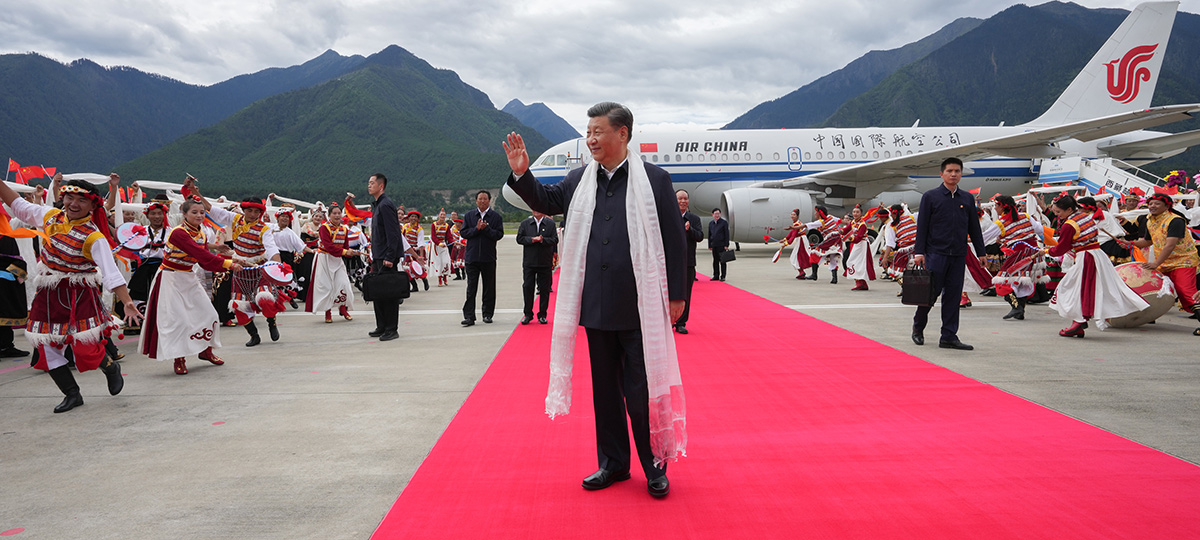 Xi inspeciona o Tibet, destacando estabilidade duradoura e desenvolvimento de alta qualidade