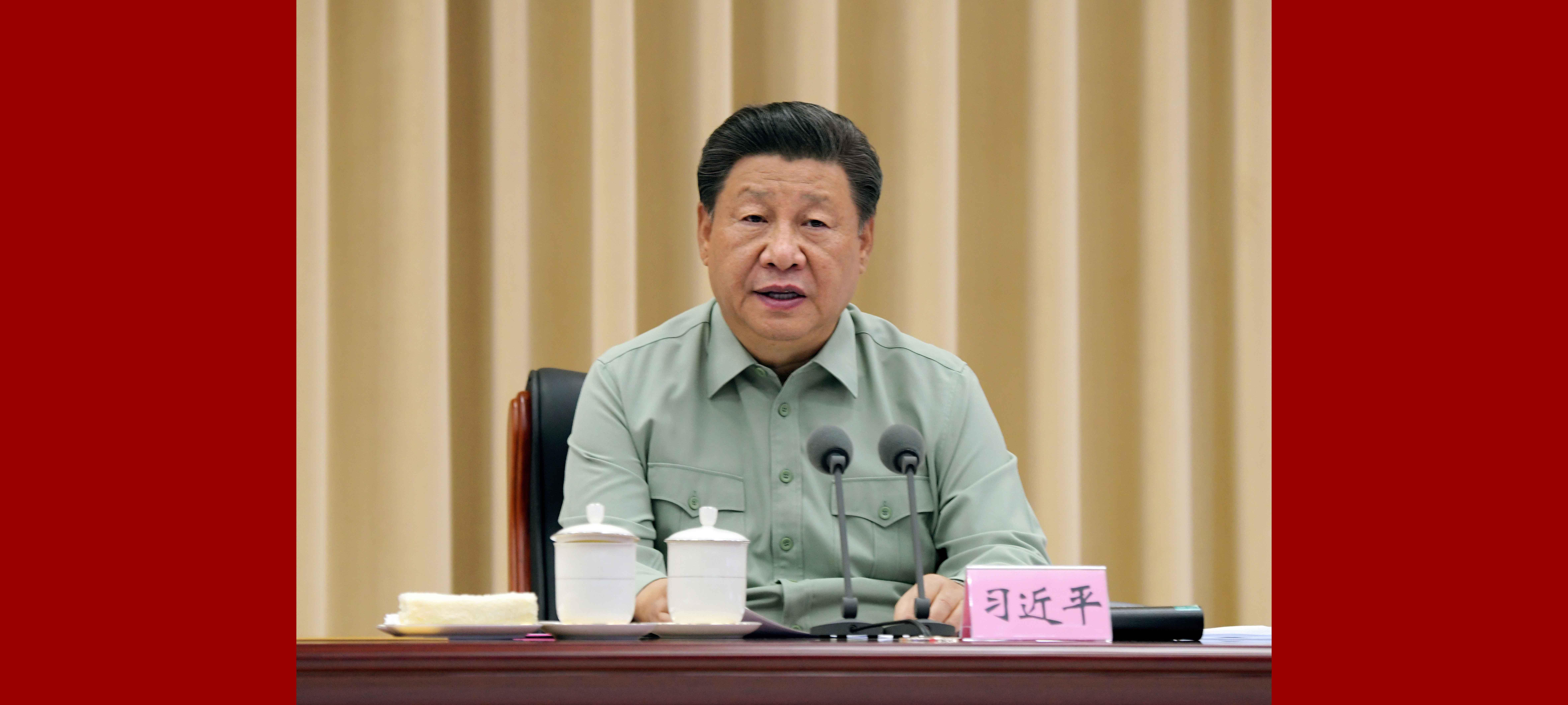 Xi inspeciona base militar na Província de Shaanxi, noroeste da China