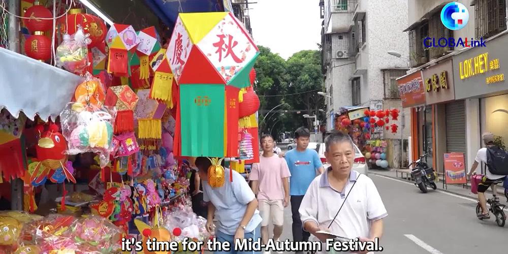 Como uma família transnacional celebra o Festival do Meio Outono no sul da China?