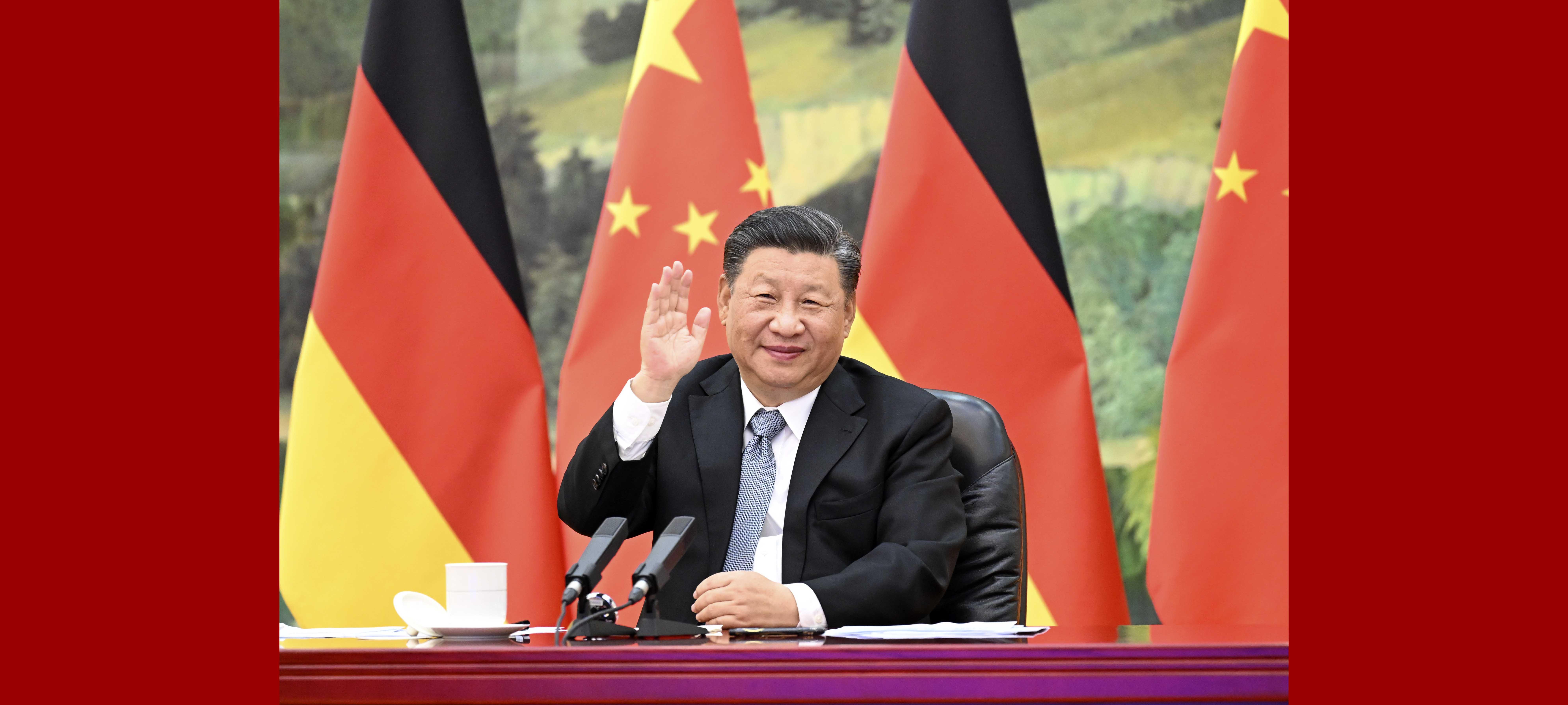 Em videoconferência com Merkel, Xi pede maiores laços com UE e Alemanha