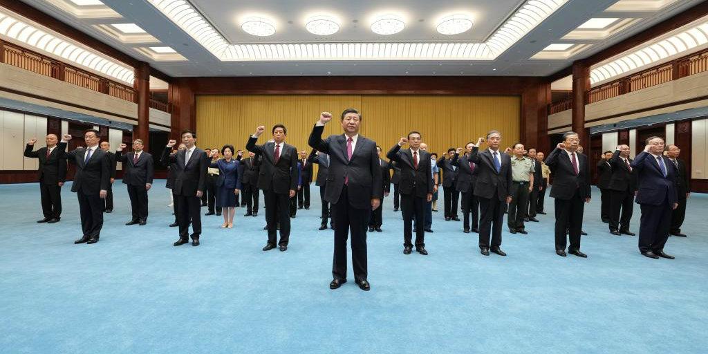 Xi enfatiza obtenção de força da história do PCC para seguir em frente