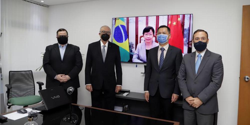 Agência de notícias Xinhua e TV Cultura assinam acordo de cooperação