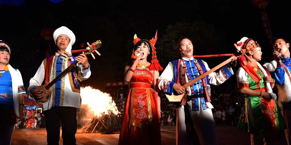 Festival da Canção de Shibaoshan em Yunnan