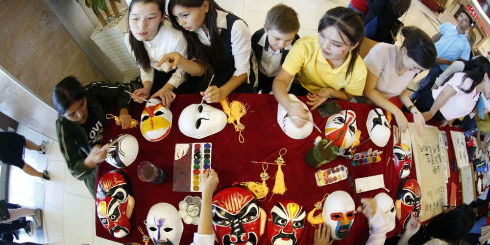 Dia do Instituto Confúcio é celebrado em Bishkek, Quirguistão