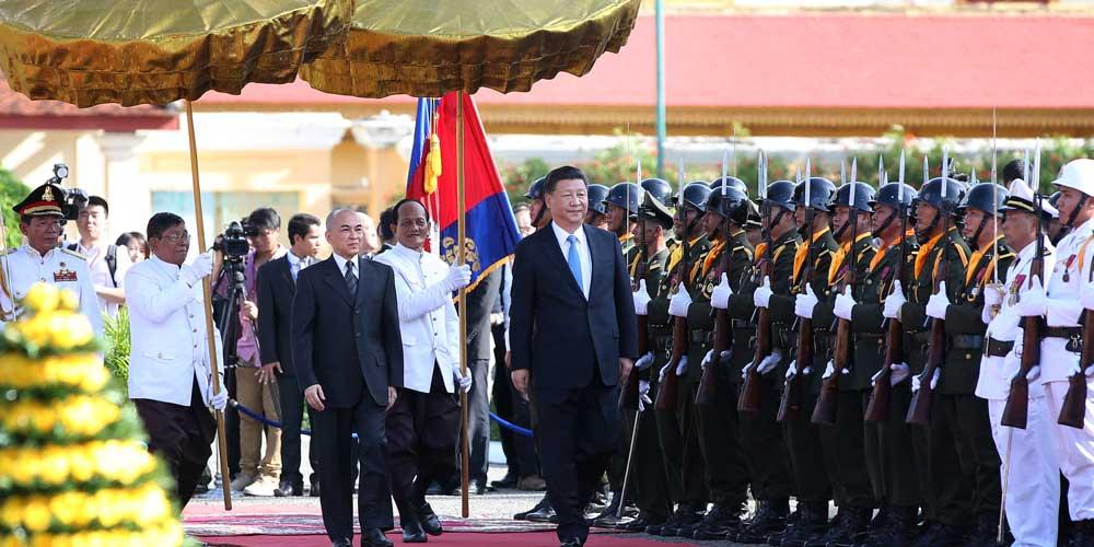 China e Camboja avançarão em cooperação e laços