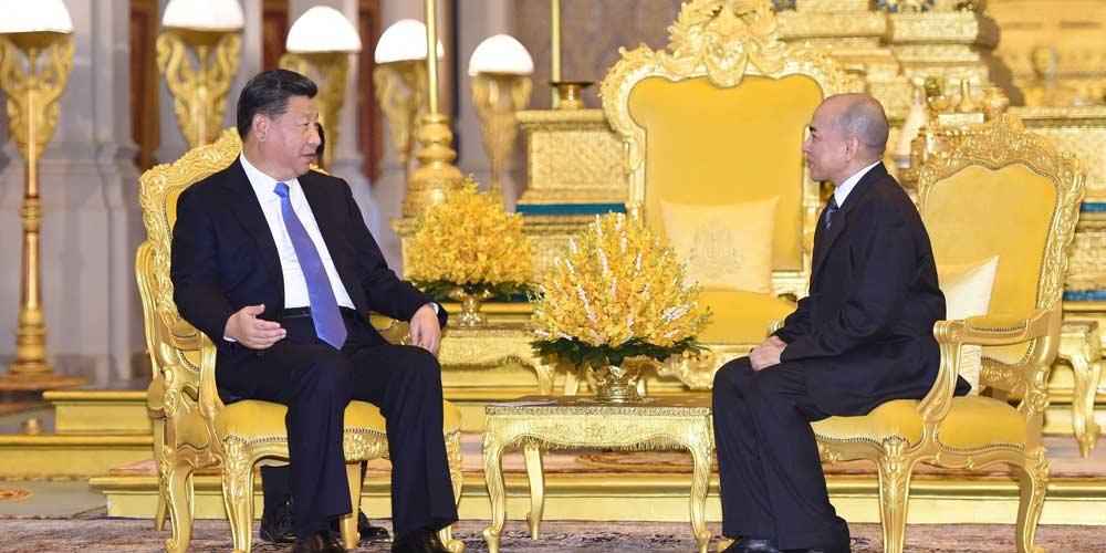 China e Camboja prometem consolidar amizade de longa data