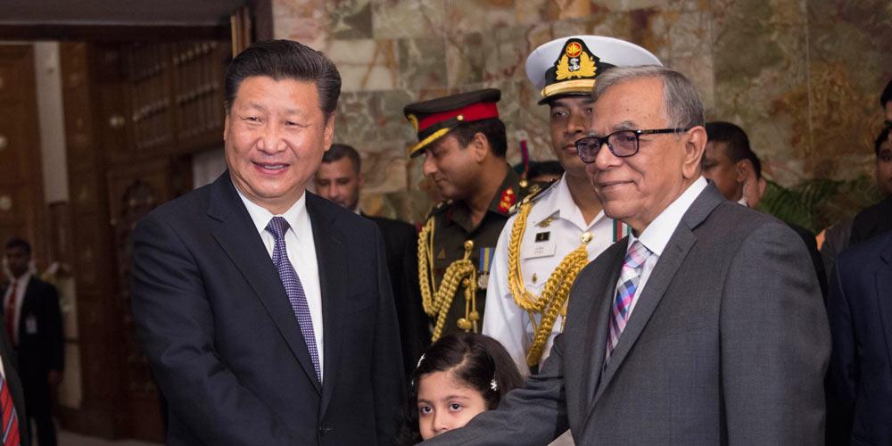 Presidente chinês acolhe oportunidades para relações entre China e Bangladesh