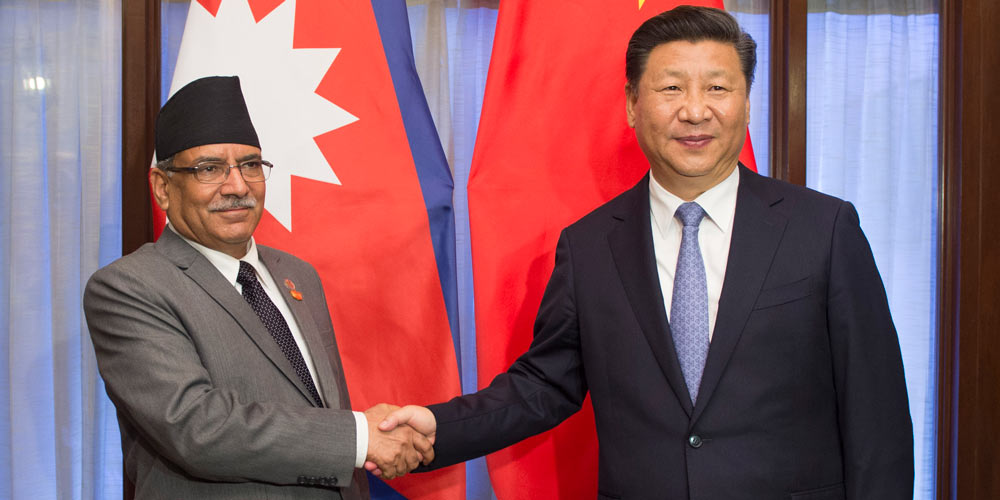 Presidente chinês propõe comunidade de destino comum com Nepal