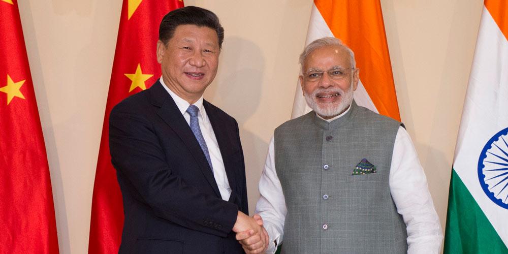 Presidente chinês apela a esforços conjuntos para enriquecer parceria entre China e Índia