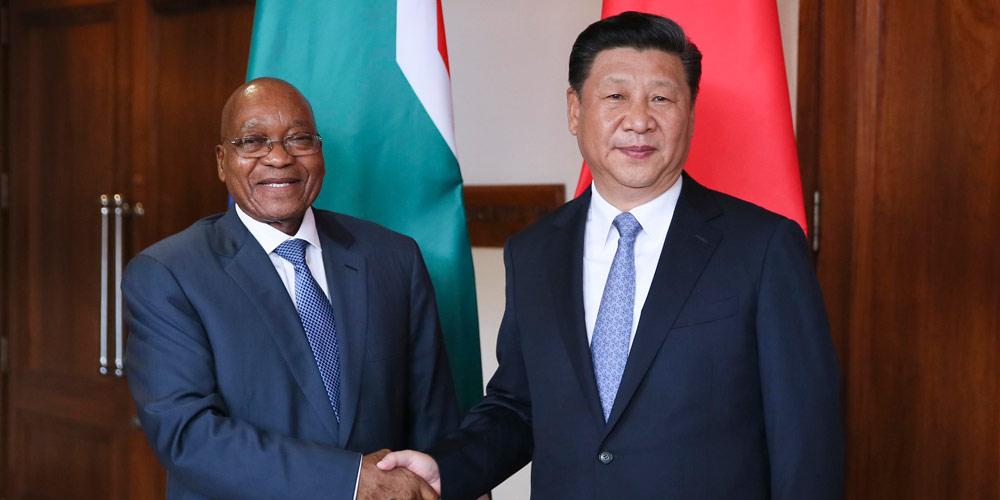 China e África do Sul prometem maior cooperação dentro do BRICS e FOCAC