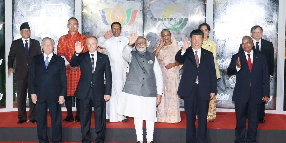 Presidente chinês participa de diálogo de líderes BRICS-Bimstec