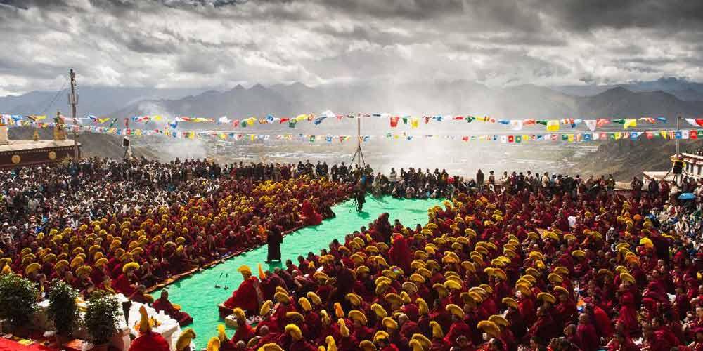 600º aniversário do Mosteiro de Drepung é celebrado em Lhasa