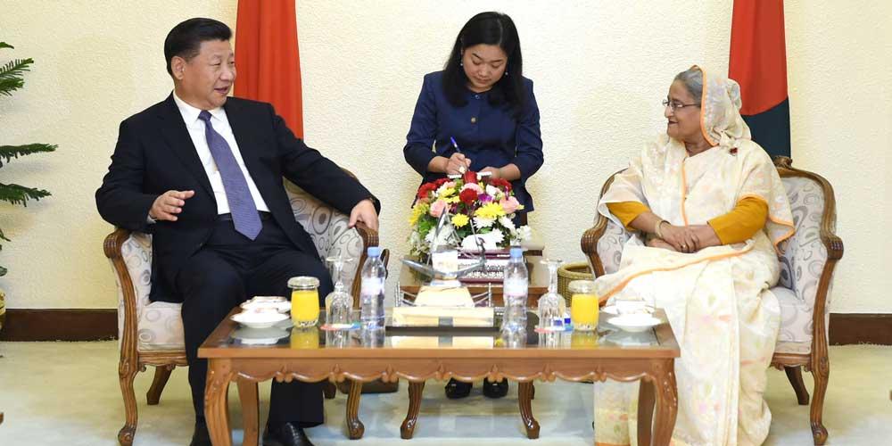 China e Bangladesh elevam suas relações para parceria de coopeação estratégica