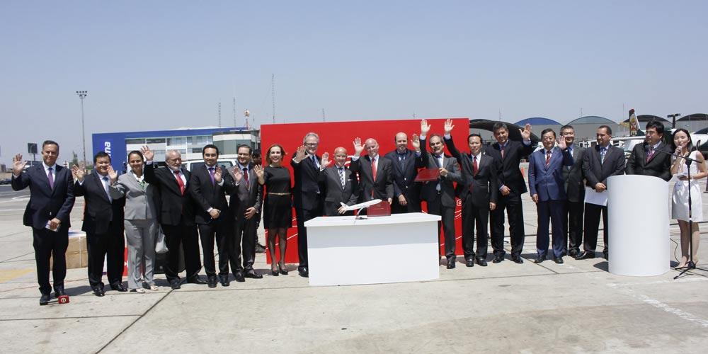 Avião cargueiro começa a transportar produtos peruanos para China