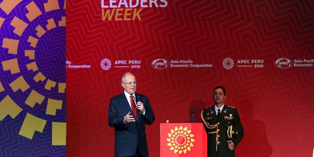 Conferência de imprensa de encerramento para Reunião dos Líderes das Economias da APEC é realizada em Lima