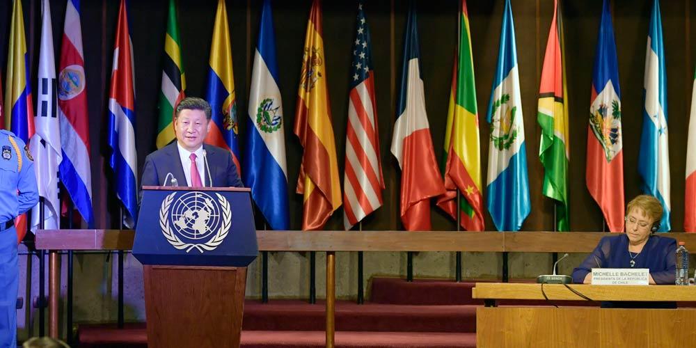 Presidente chinês pede maior influência midiática para uma imagem mais realista da  China e América Latina