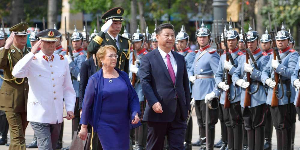 China e Chile elevam laços para nível de parceria estratégica abrangente