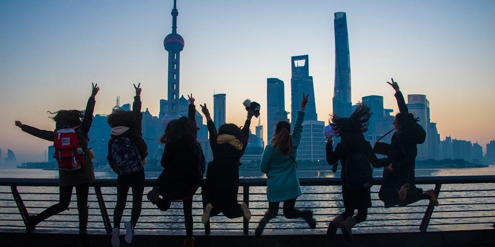 Destaques do cenário do nascer do sol em toda a China no primeiro dia de 2017