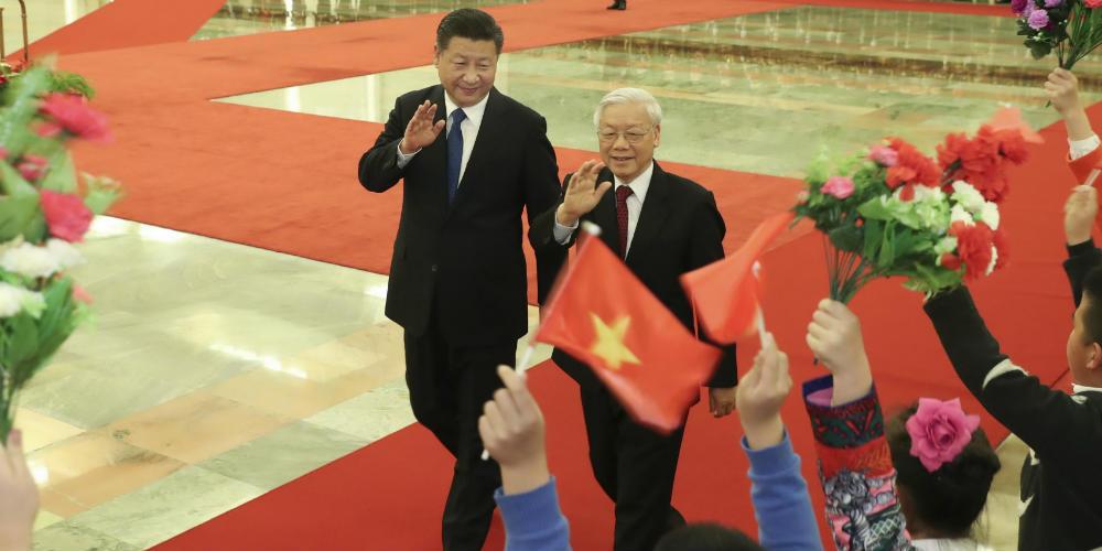 China e Vietnã querem cooperação mais estreita