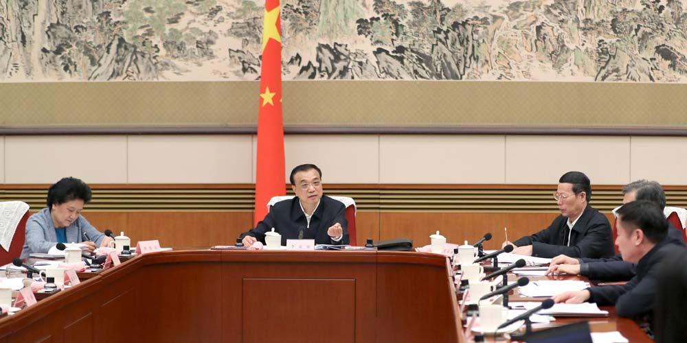 Premiê chinês escuta opinião sobre relatório de trabalho do governo