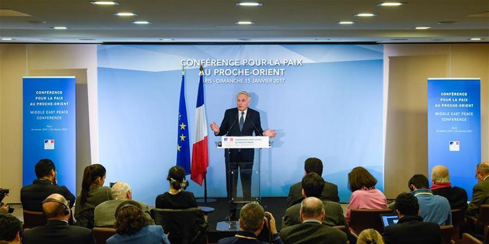 Conferência de Paris sobre paz no Oriente Médio reitera necessidade de uma solução de dois Estados