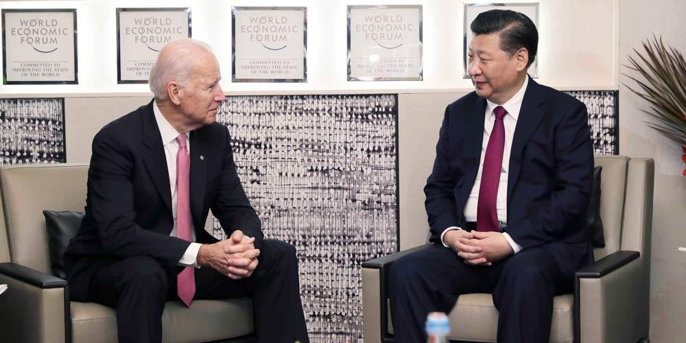 Xi Jinping pede esforços conjuntos para construir relações China-EUA duradouras e  estáveis