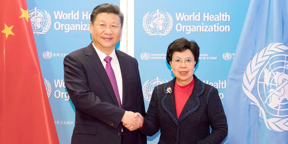 """China e OMS construirão Rota da Seda """"saudável"""""""