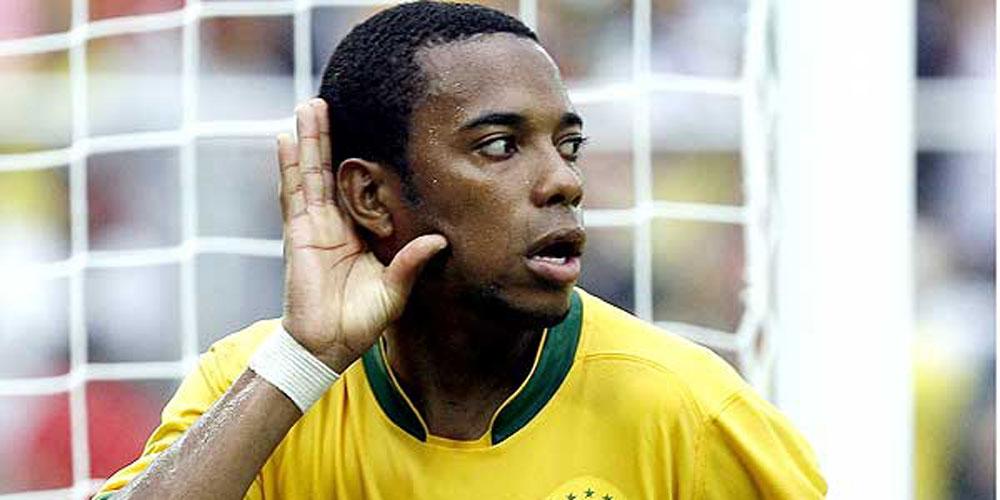 Robinho quer impressionar em jogo contra a Colômbia