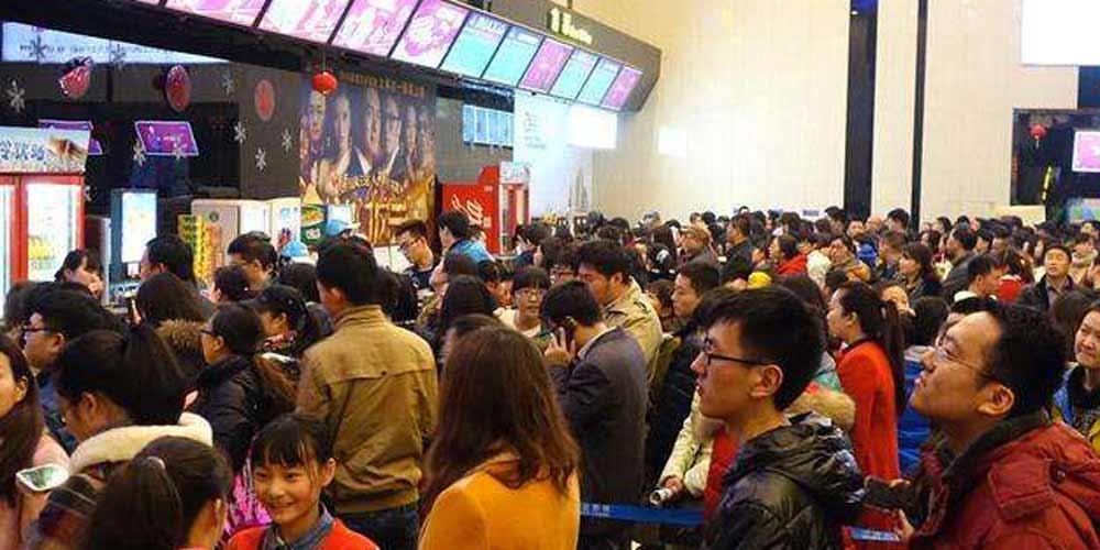 Bilheteria chinesa bate recorde de um só dia