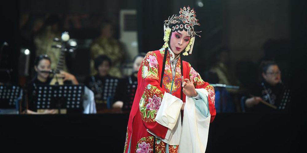 Prêmio Narciso da ópera de Fujian é realizado em Fuzhou, no sudeste da China