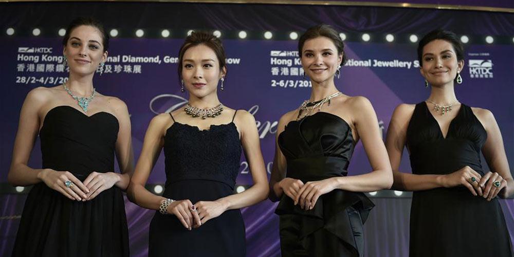 Exposição de joias em Hong Kong iniciará na próxima semana
