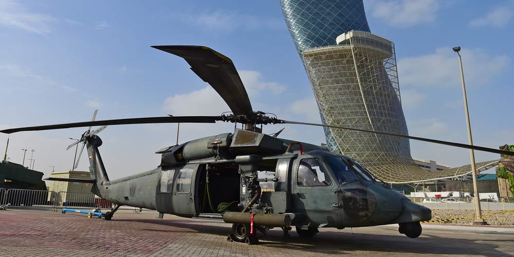 Exposição e Conferência Internacional de Defesa é realizada em Abu Dhabi