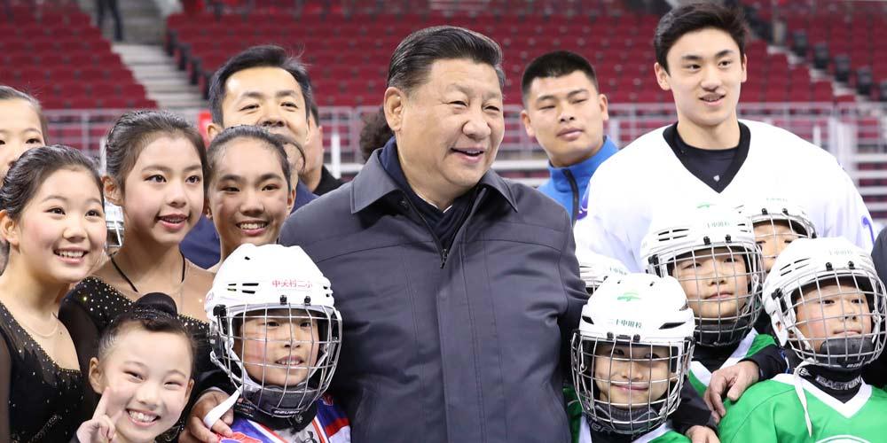 Presidente chinês destaca preparação para Jogos Olímpicos de Inverno de Beijing 2022
