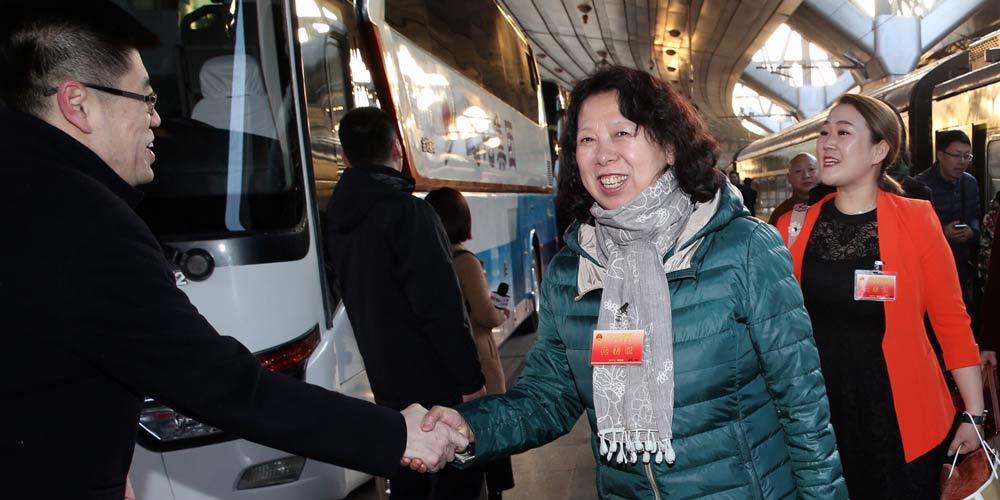 Legisladores chineses se reúnem em Beijing para Assembleia Nacional