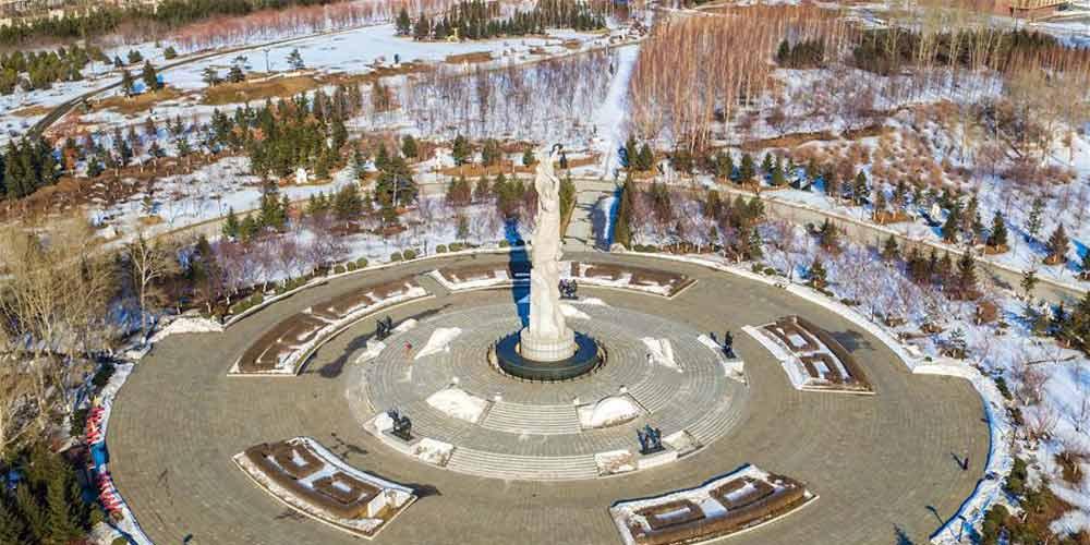 Em imagens: Parque Mundial de Esculturas em Jilin