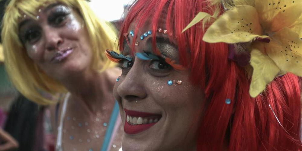Desfile de blocos de rua no Carnaval de São Paulo